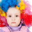 Cute clown - Stock Photo