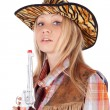 Cowgirl — Stock Photo #13614435
