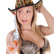 Blond sexy cowgirl — ストック写真 #13614595