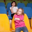 Royalty-Free Stock Photo: Girls in the cinema