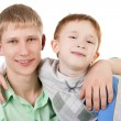 Boys smiling — Stock Photo