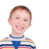 Sourire de petit garçon — Photo