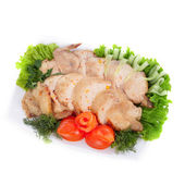 Delicious chicken — Stock Photo