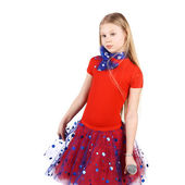 Little star girl — ストック写真