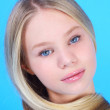 Stock Photo: Young blond beauty