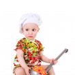 Stock Photo: Cute little cook