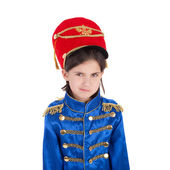 Cute little hussar — Stock Photo