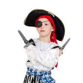 Little pirate — Stock Photo