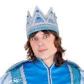 Young handsome prince — Stock Photo