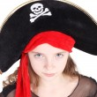 Pirate Girl — Stock Photo