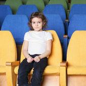 ホールの女の子 — ストック写真