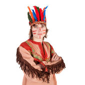 American Indian — Stock Photo