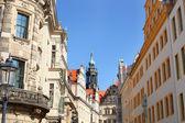 Street in Dresden — Stock Photo