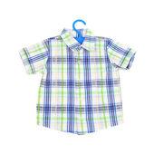 Checked shirt — Stockfoto