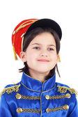 Cute little hussar — Stock Photo