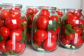 Winter tomatoes — Stock Photo