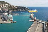 λιμάνι της νίκαιας — Φωτογραφία Αρχείου