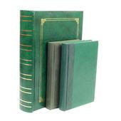 Green books — Stock Photo