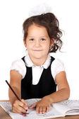 Drawing child — Stock Photo