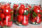 Winter tomatoes — Zdjęcie stockowe
