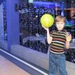 Bowling player — Stock Photo