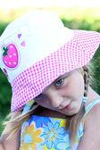 Koketa dívka — Stock fotografie