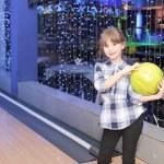 Playing bowling — Stock Photo