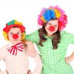 Cute little clowns — Stock Photo #49575119
