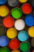 Bright paint colors — Stock Photo