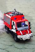 Fire-fighting vehicle — Stock Photo