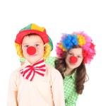Cute little clowns — Stock Photo #49580873