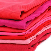Red clothes — Stock Photo