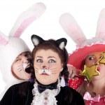 ������, ������: Trio actors in the costumes