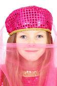 Eastern beauty little girl — Stock Photo