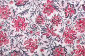 Textile with decorative floral ornament — Stock Photo