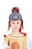 Little kid  legionary — Stock Photo