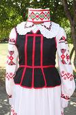 Belarusian national costume — Stock Photo