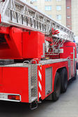 Red fire engine — Stock Photo
