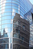 Building reflection — Stock Photo