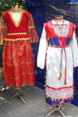 National costumes — Stock Photo