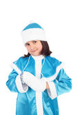 Girl in the costume of the Snow Maiden — Stock Photo