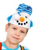 Kleine sneeuwpop — Stockfoto