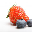 Blue berry and strawberry — Stock Photo #25085913
