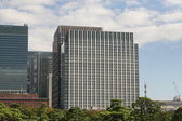 Tokyo office building — Stock Photo