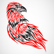 Stock Vector: Eagle Tattoo
