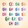 Royalty-Free Stock Vector Image: Doodle Computer Icon Set