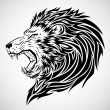 Stock Vector: Lion Roar