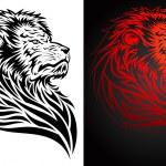 Pride Lion — Stock Vector