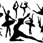 Ballet clásico — Vector de stock