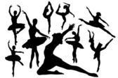 Ballet — Stock Vector